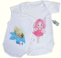 All-in-One Baby Vests - your own design