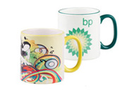 Two Tone Mugs - wraparound print