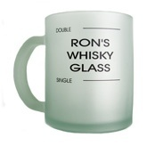 Glass Mugs - one or two sided print
